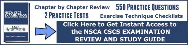 CSCStestprep com – Free Online NSCA CSCS Exam Review and